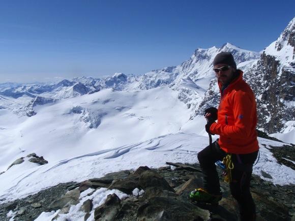 Blick vom Gipfel des Fluchthorns