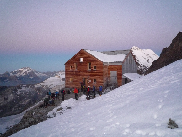 Die marco e Rosa Hütte
