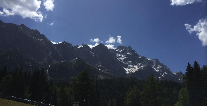 Unser Ziel: Die Zugspitze