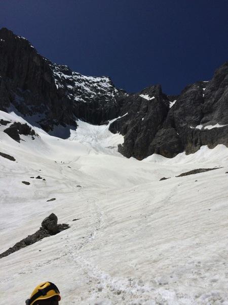 Der Hölltalferner mit viel Schnee