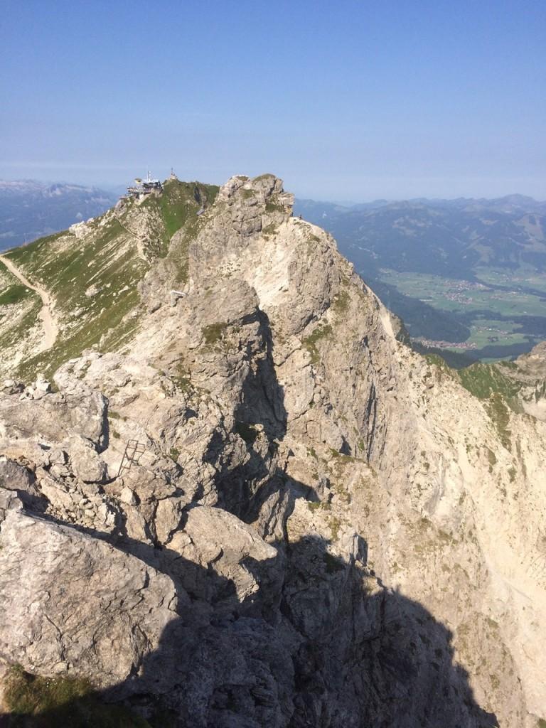Es gibt viele freie Kletterstellen!
