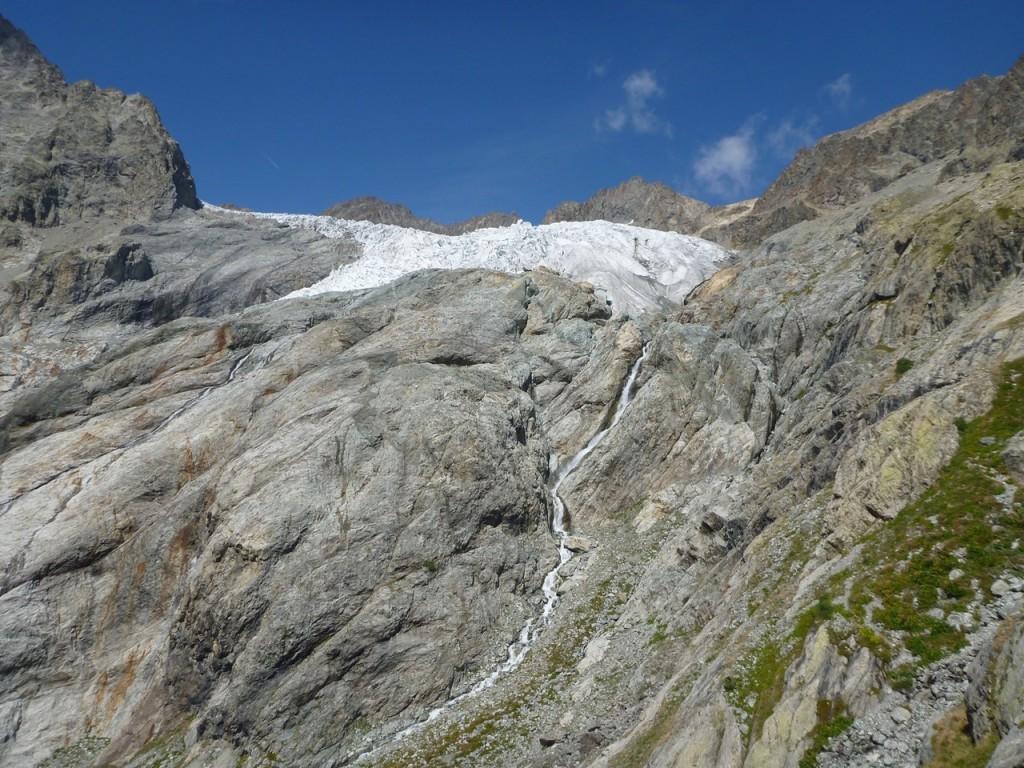 Auf dem Weg zum Refuge de Glacier Blanc