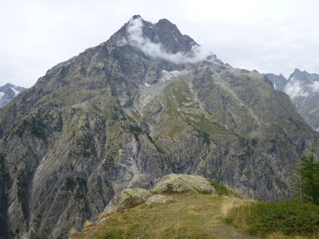 Der mächtige Mont Pellvoux