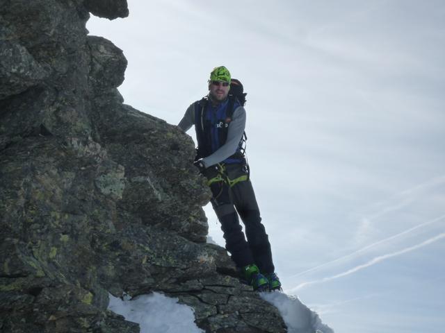 Abstieg von der Dreiländerspitze
