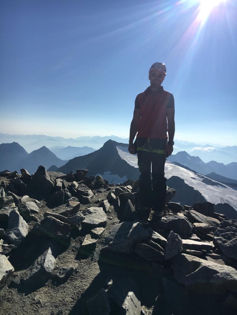 Am Gipfel des Wilden Pfaffs